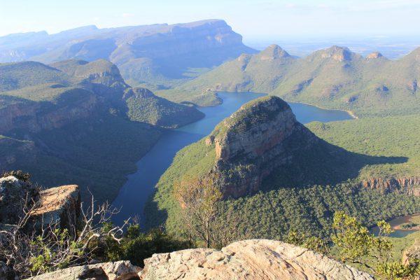 Blick auf den 26km langen Blyde River Canyon