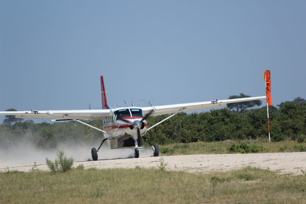 Charterflugzeug Einer Fly-in-Safari