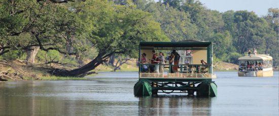 Flussfahrt Chobe River