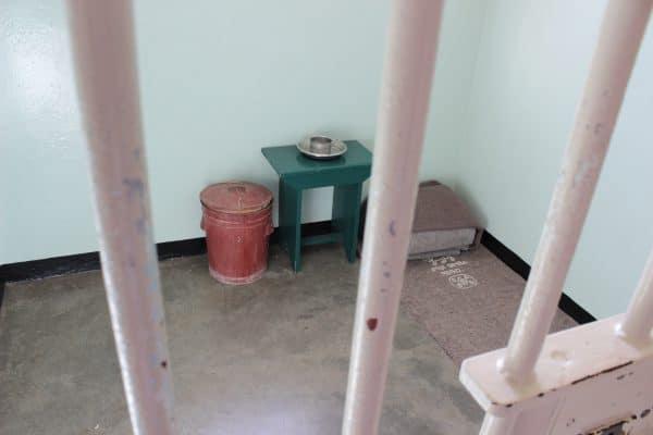 Ehemalige Zelle Von Nelson Mandela | Robben Island