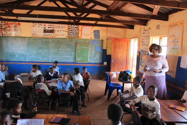 Schule Im Zululand