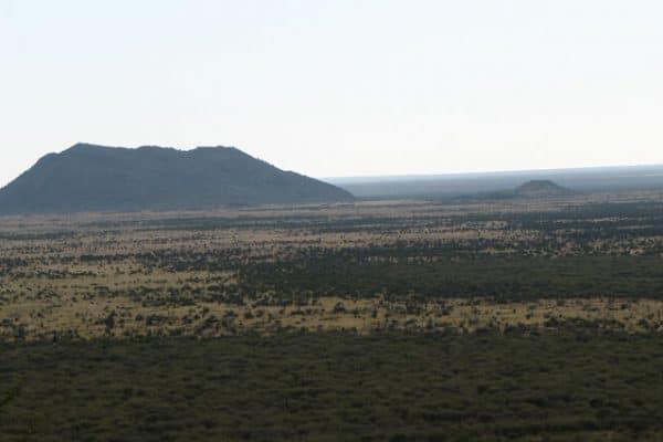 Suedafrika Madikwe Landschaft