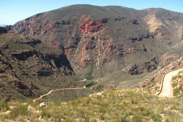 Suedafrika Oudtshoorn Swartberg Pass 2