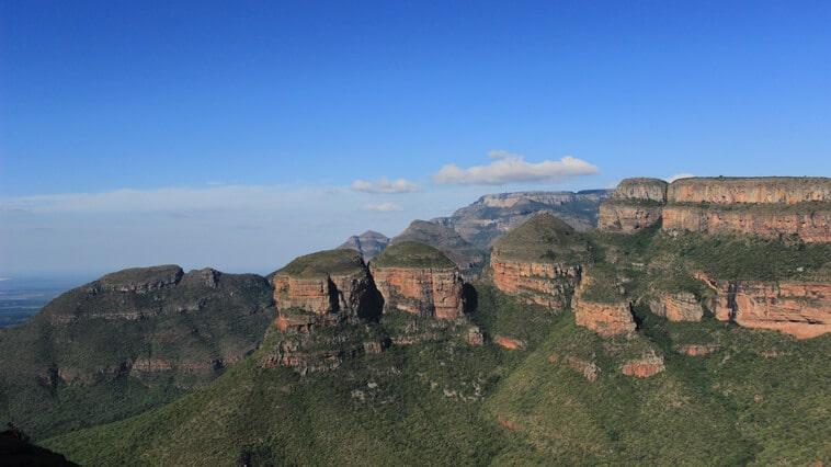 Suedafrika Panorama Route Three Rondavels