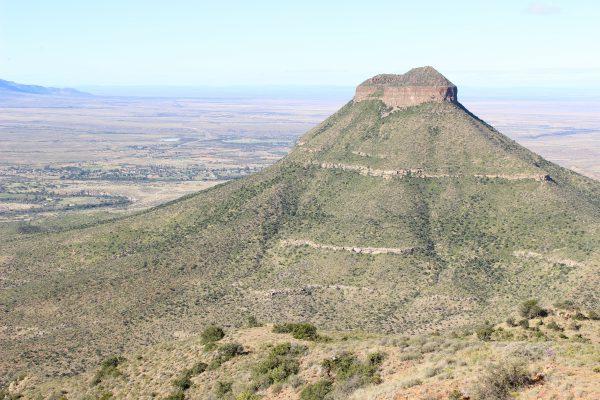 Blick Auf Das Valley Of Desolation