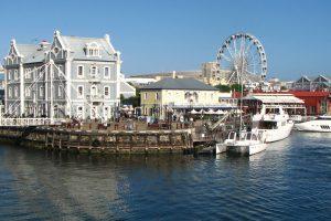 Blick Auf Die Waterfront In Kapstadt