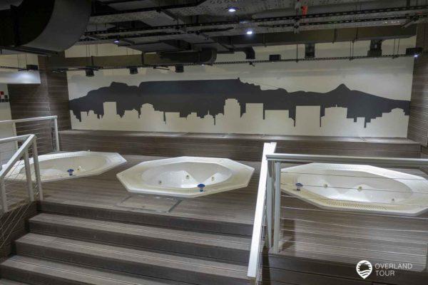 Innenansicht Des Cape Town Stadion