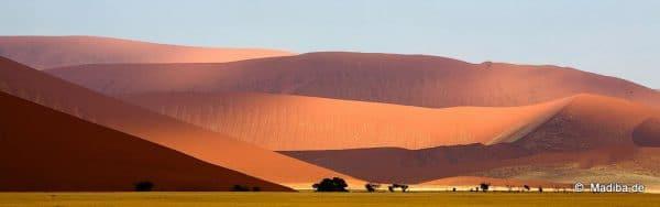 Blick auf das Hartmanntal | rote Dünen
