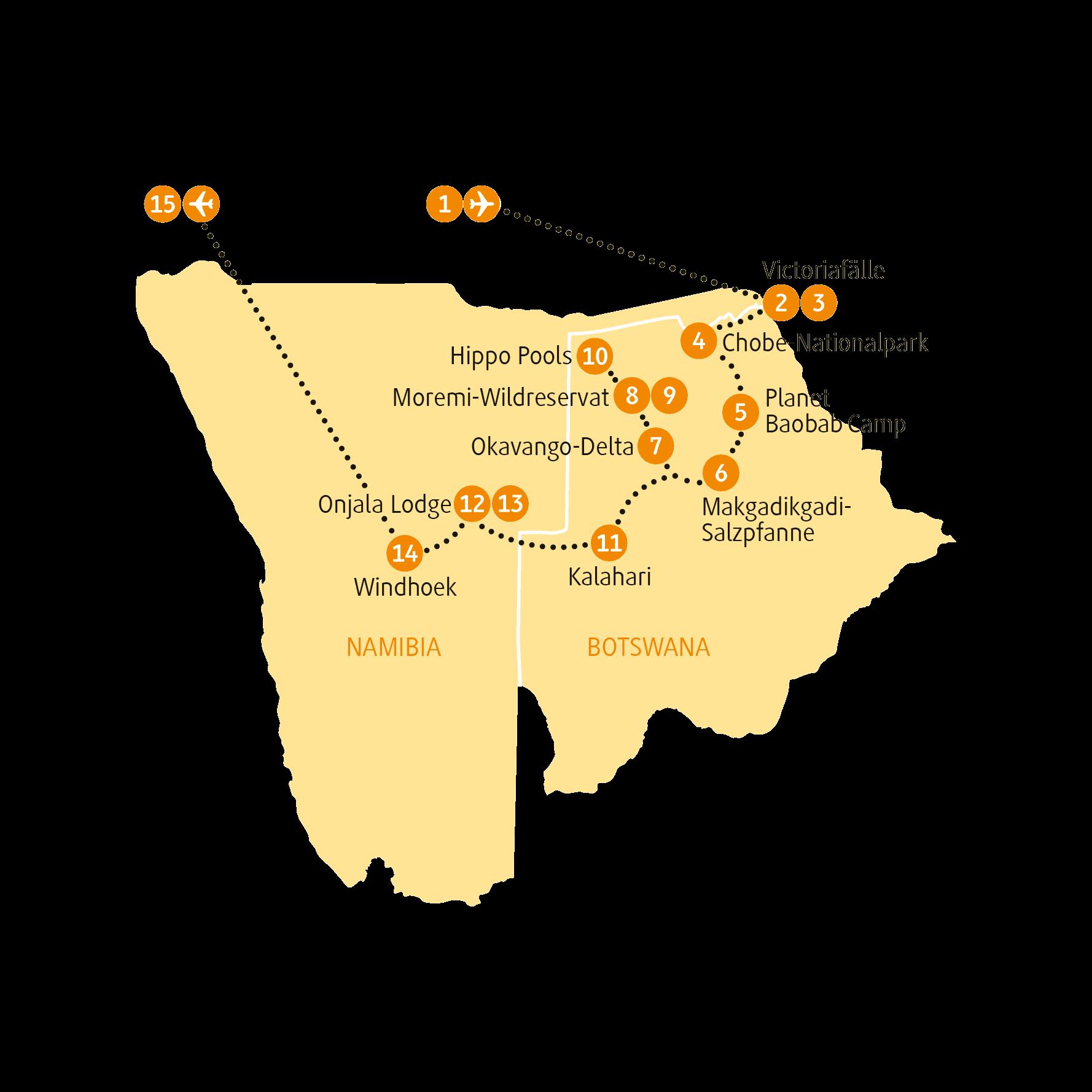 Karte BWOKA sRGB