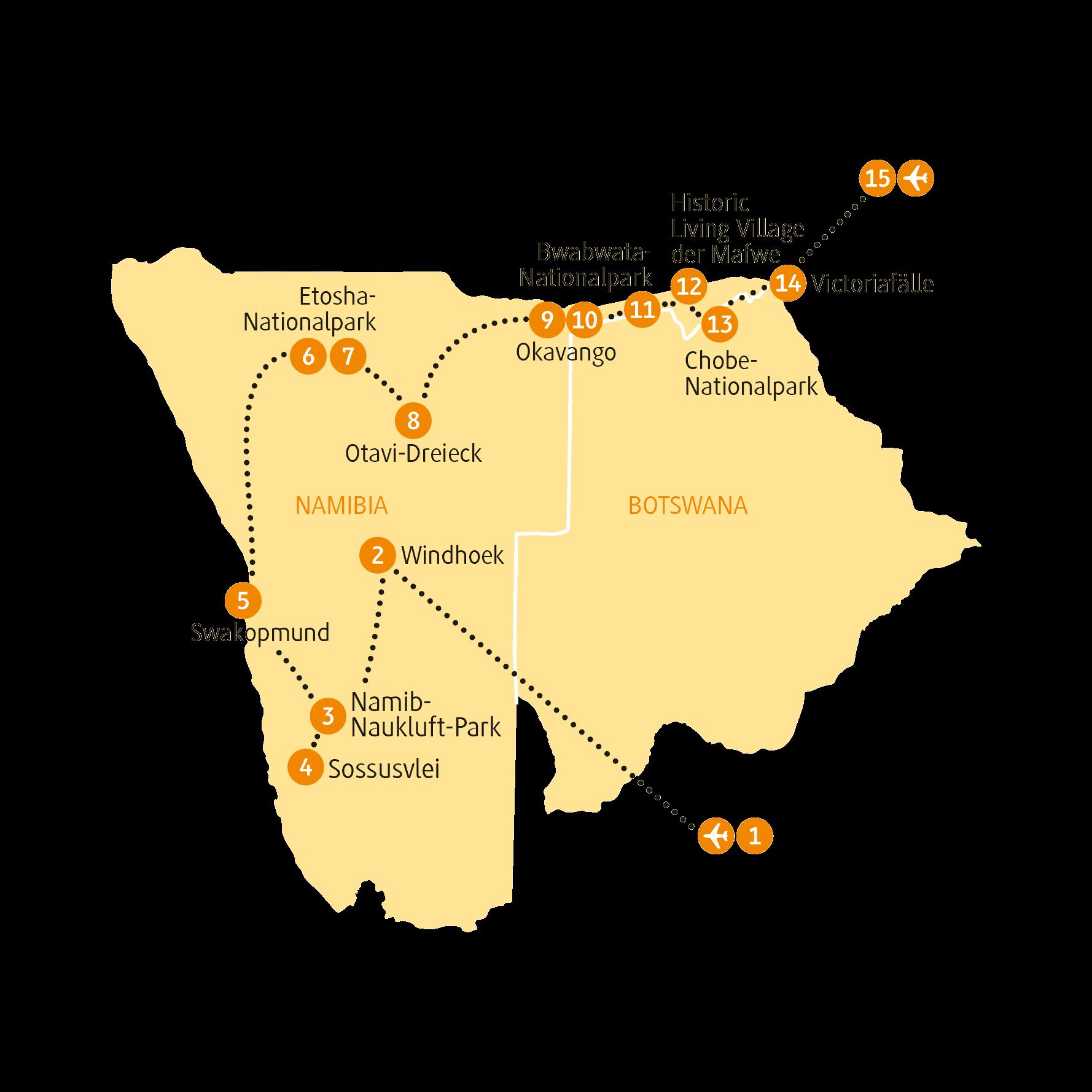 Karte NACAP sRGB