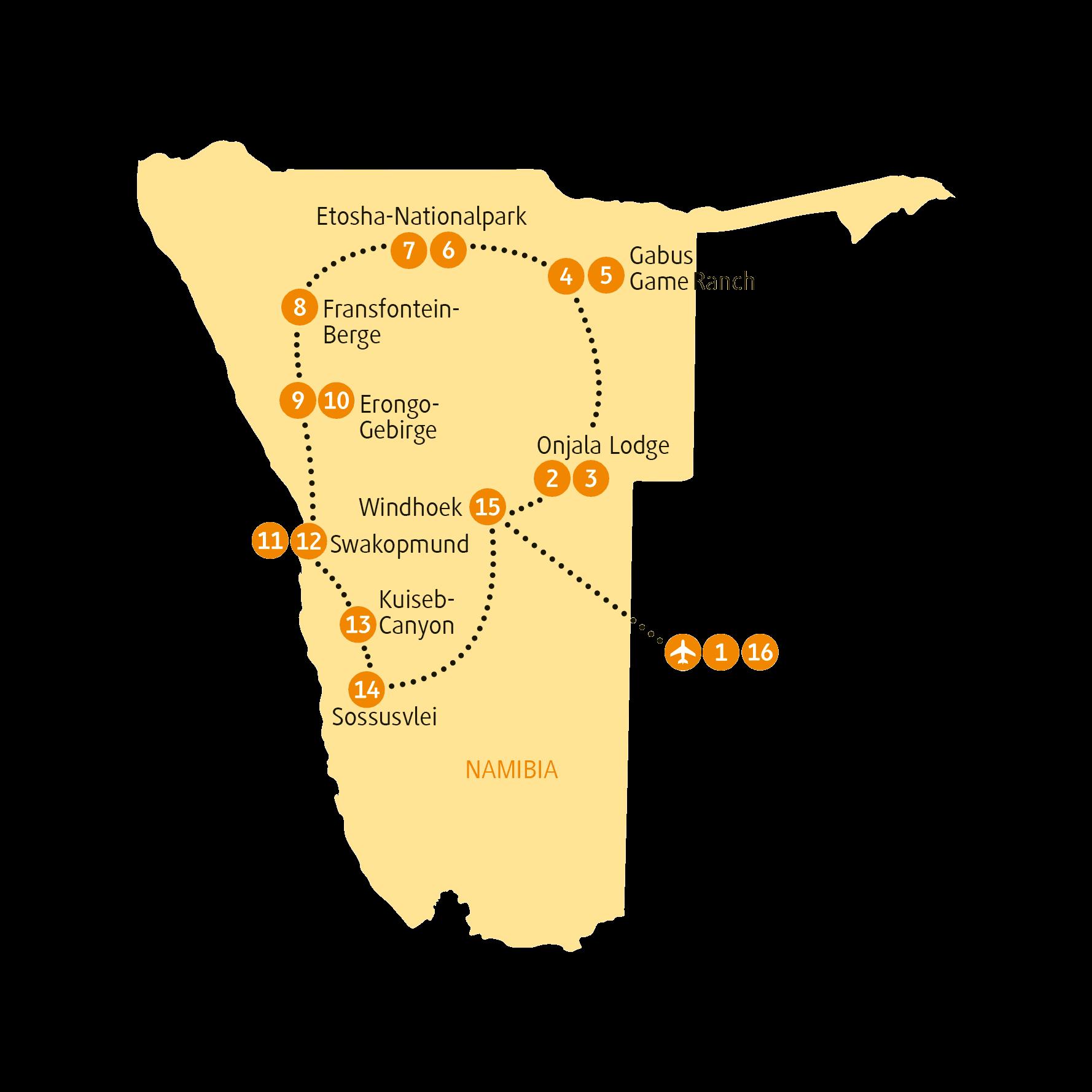 Karte NAERO sRGB