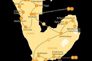 Karte NAGON SRGB