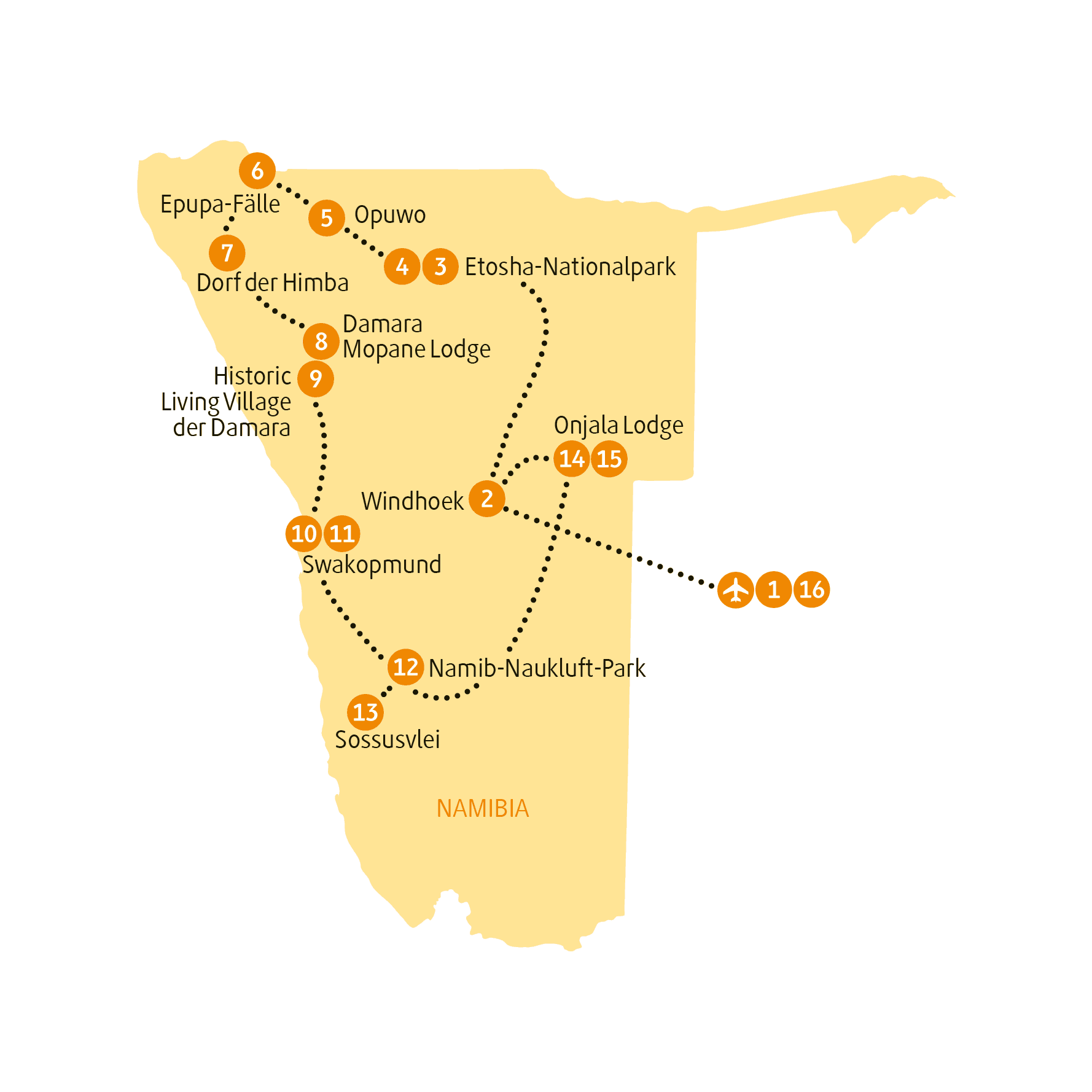 Karte NAHIM sRGB