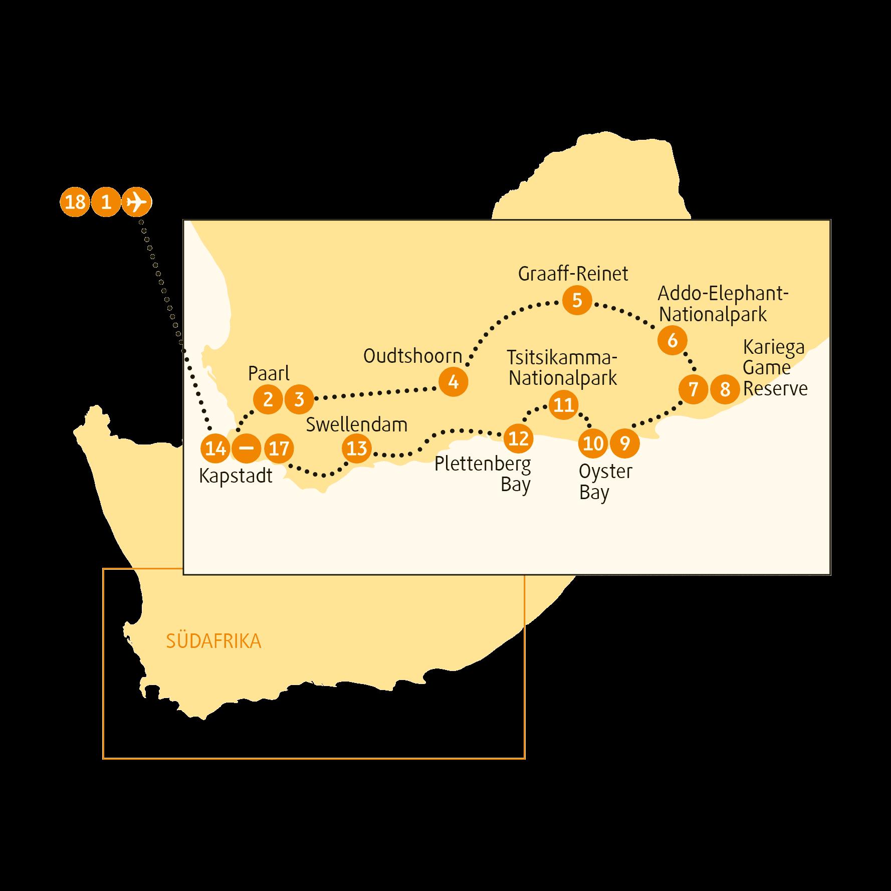 Cape Town entspannt