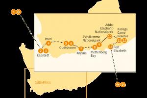 Karte SAGAR SRGB