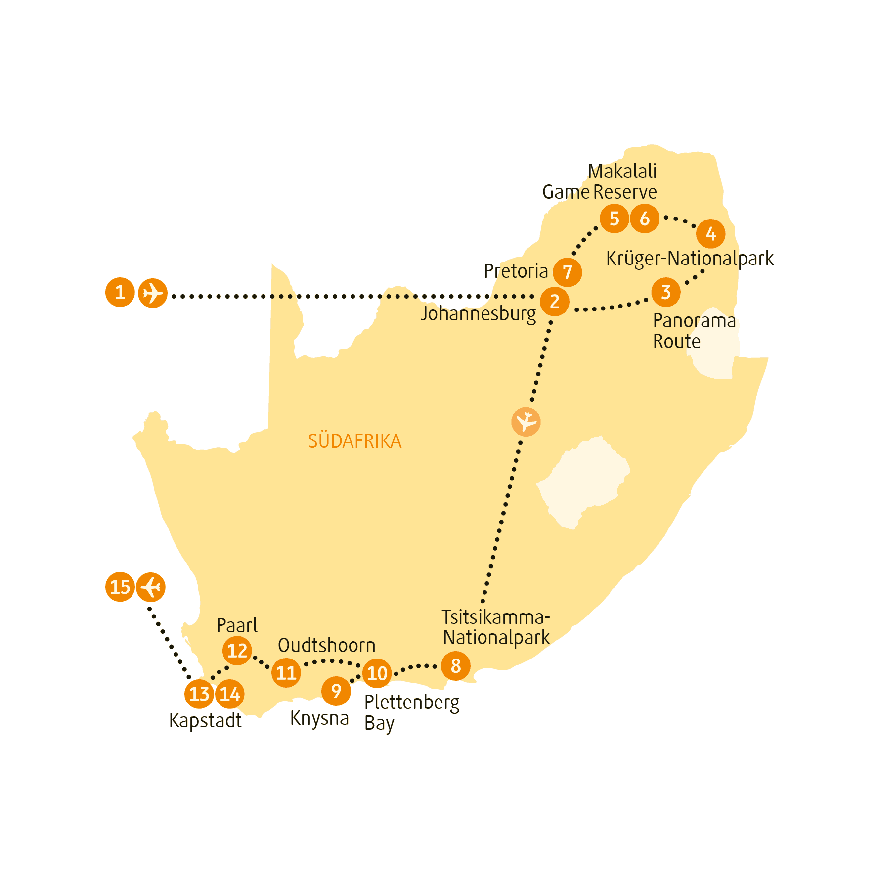 Karte SAOUT sRGB