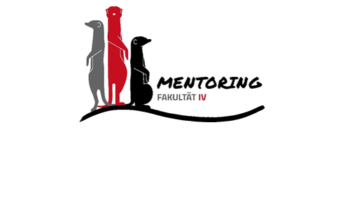 Drei Erdmännchen Auf Beobachtungsposten Symbolisieren Das Mentoring Programm Der Fakultät IV Der TU Berlin