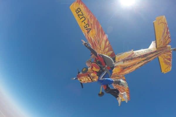 Namibia-Swakopmund-Fallschirmspringen