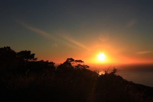 Sonnenuntergang am Signal Hill - traumhaft schön