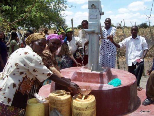 Gemeinschaftsbrunnen Trinkwasser