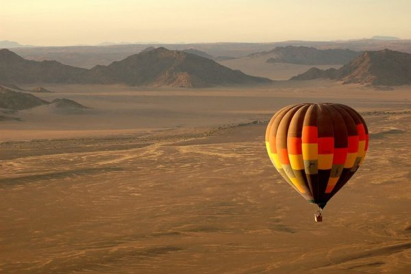 Ballonsafari In Namibia