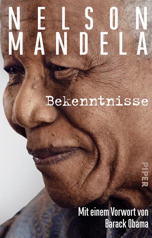 Buchtitel: Bekenntnisse Nelson Mandela