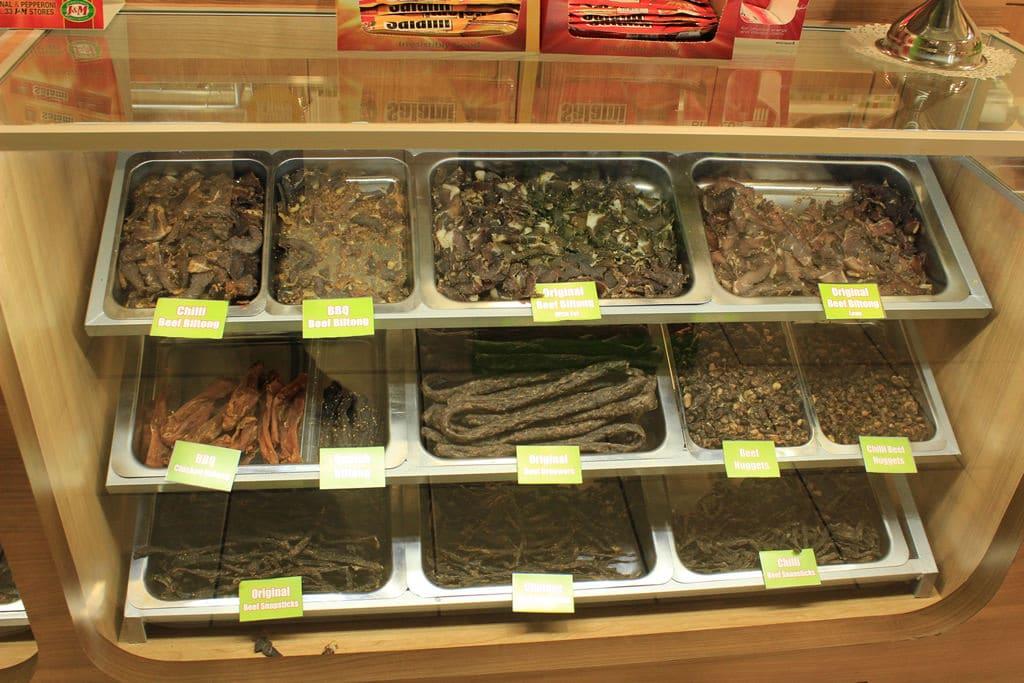Biltong: Südafrikanisches Trockenfleisch
