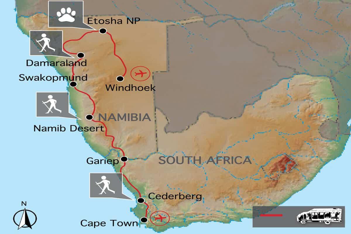 Desert Safari Map