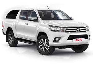 Mietwagen Toyota Hilux 4x4 o.ä.