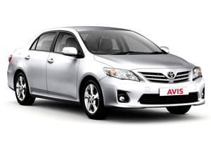 Mietwagen Toyota Corolla o.ä.