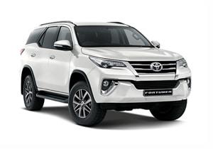 Mietwagen Toyota Fortuner o.ä.