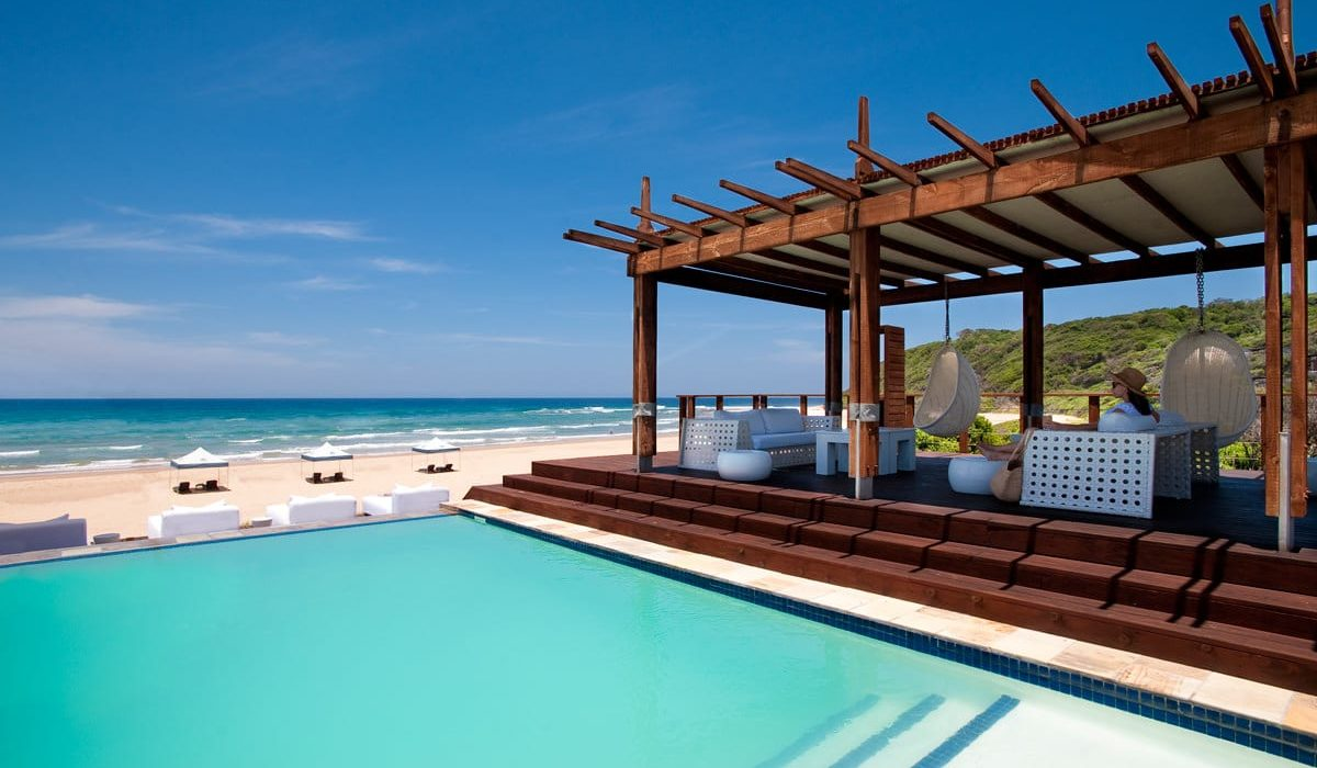 White Pearl Resort Deck Mit Meerblick