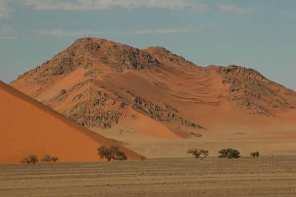Namibia Sossusvlei Duenenlandschaft