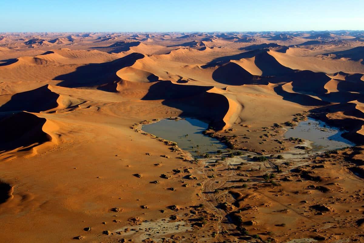 Die Endlose Namib – älteste Wüste Der Welt
