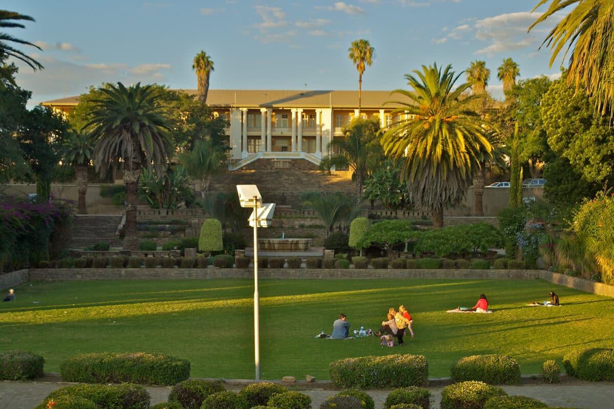Namibia Windhoek Tintenpalast