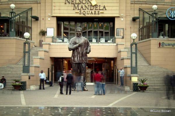 Nelson Mandela Square in Sandton