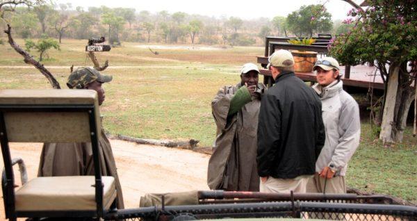 ranger im Sabi Sand Game Reserve