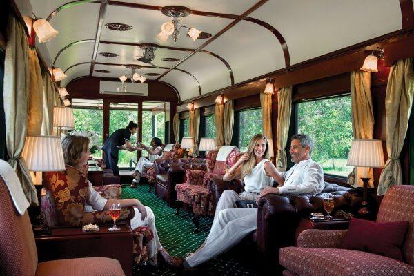 Rovos Rail Ansicht Des Aussichtswaggon