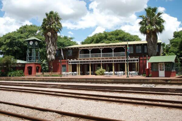 Rovos Rail Bahnhofsgebaeude