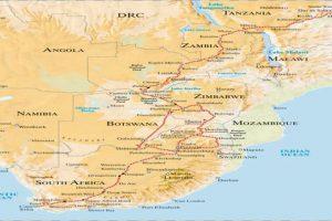 Rovos Rail Reisen - Dar Es Salaam Nach Kapstadt