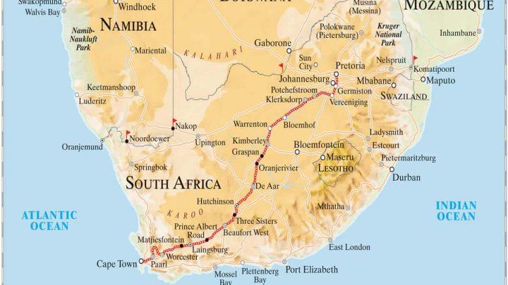 Pretoria Nach Kapstadt