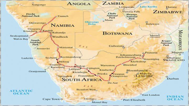 Rovos Rail Reisen - Pretoria Nach Windhoek