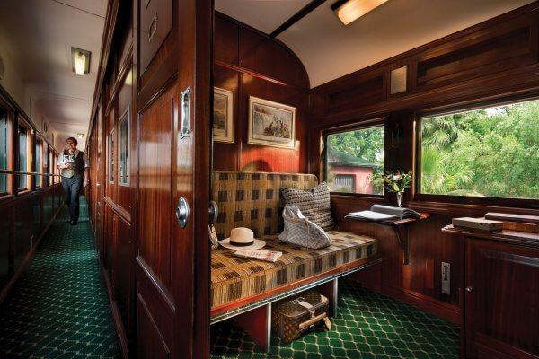 Rovos Rail Pullman Suite Zimmer