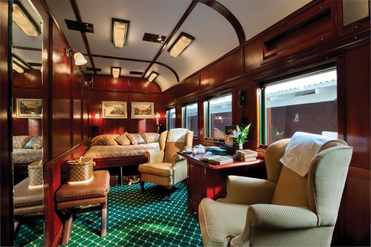 Rovos Rail Royal Suite Zimmer