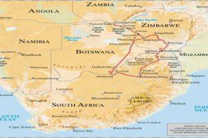 Pretoria Nach Victoria Falls