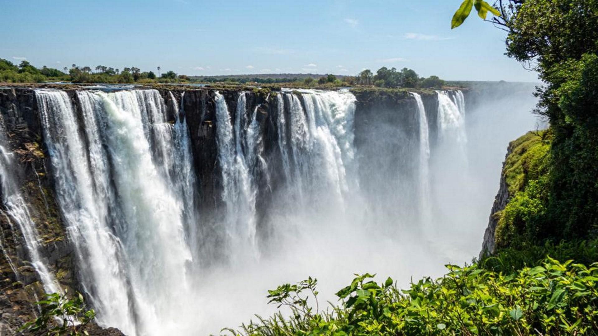 Victoria Fälle Simbabwe am 01.12.2019