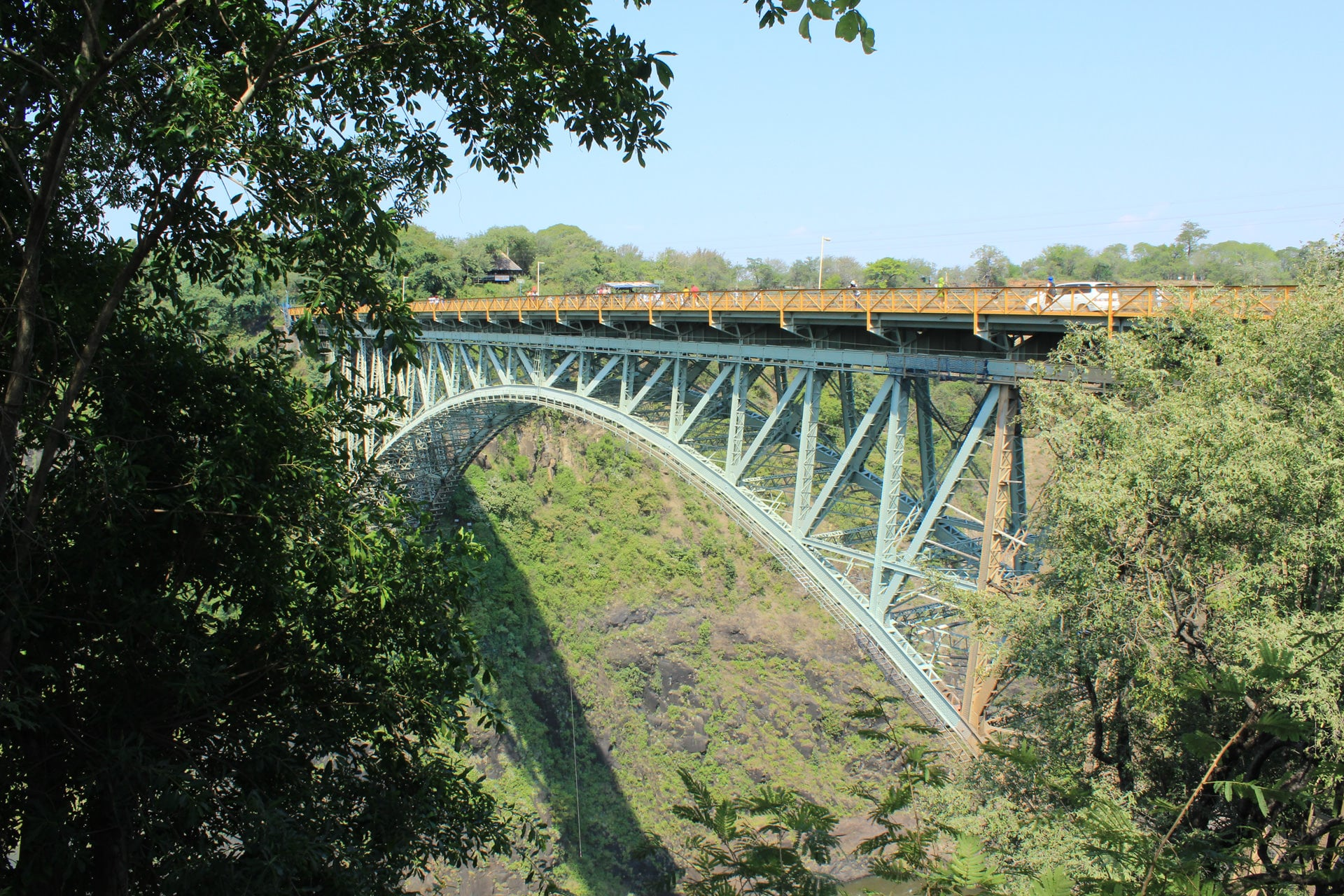 Victoria Falls Bridge Bungee Jumping