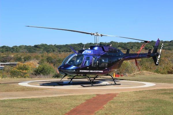 Helikopterflug Victoria Falls