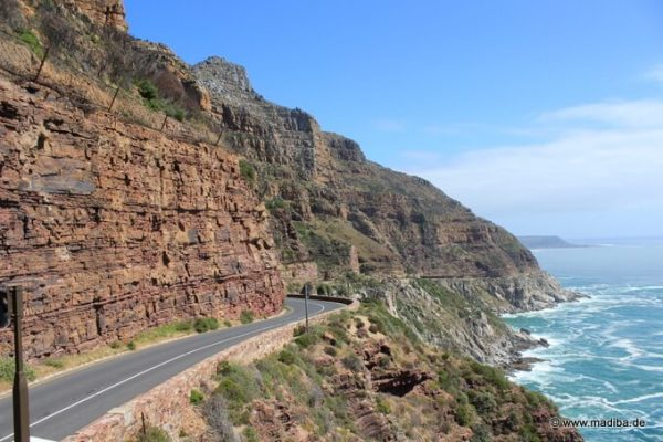 Panorama auf der Cape Town Cycle Tour