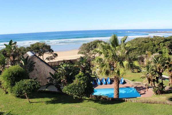 Chintsa: Blick Auf Lodge Und Strand